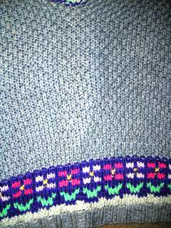 Easter Sweater detail