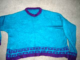 Greek Tile Sweater